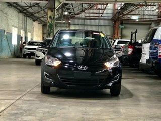 2014 Hyundai i20 PB MY14 Active Black 6 Speed Manual Hatchback.
