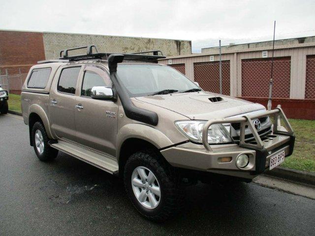 Used Toyota Hilux KUN26R MY10 SR5 Kippa-Ring, 2011 Toyota Hilux KUN26R MY10 SR5 Gold 5 Speed Manual Utility