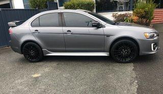2017 Mitsubishi Lancer CF MY17 Black Edition Grey 6 Speed Constant Variable Sedan.