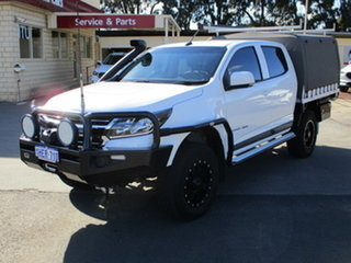 2019 Holden Colorado RG MY20 LS (4x4) White 6 Speed Automatic Dual Cab.