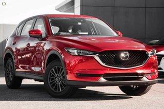 2021 Mazda CX-5 KF4WLA Touring SKYACTIV-Drive i-ACTIV AWD Red 6 Speed Sports Automatic Wagon.