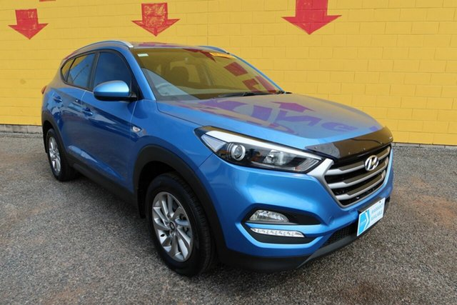 Used Hyundai Tucson TLe MY17 Active 2WD Winnellie, 2017 Hyundai Tucson TLe MY17 Active 2WD Blue 6 Speed Sports Automatic Wagon