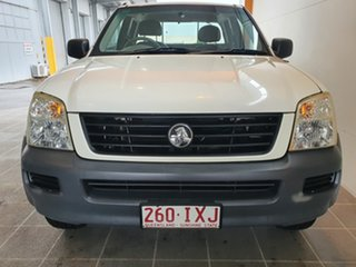 2004 Holden Rodeo RA LX Space Cab 4x2 White 4 Speed Automatic Utility