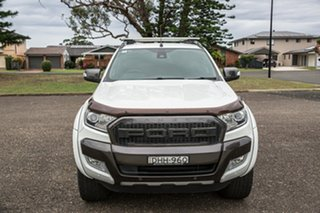 2016 Ford Ranger PX MkII Wildtrak Double Cab White 6 Speed Sports Automatic Utility.