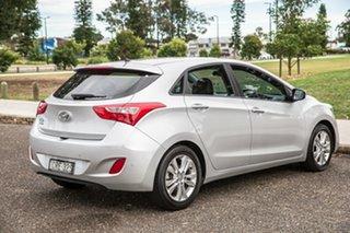 2014 Hyundai i30 GD2 MY14 Trophy Sleek Silver 6 Speed Sports Automatic Hatchback