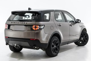 2017 Land Rover Discovery Sport L550 17MY TD4 150 SE Brown 9 Speed Sports Automatic Wagon.