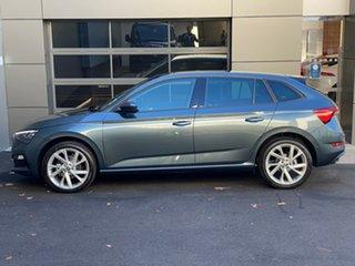 2020 Skoda Scala NW MY21 110TSI DSG Grey 7 Speed Sports Automatic Dual Clutch Hatchback