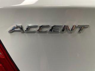 2019 Hyundai Accent RB6 MY19 Sport Chalk White 6 Speed Sports Automatic Hatchback