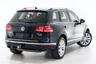 2015 Volkswagen Touareg 7P MY15 V6 TDI Tiptronic 4MOTION Blue 8 Speed Sports Automatic Wagon.