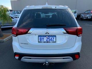 2019 Mitsubishi Outlander ZL MY19 ES 2WD ADAS White 6 Speed Constant Variable Wagon.