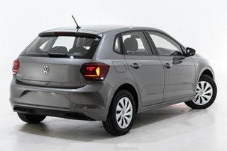 2020 Volkswagen Polo AW MY20 70TSI DSG Trendline Grey 7 Speed Sports Automatic Dual Clutch Hatchback.