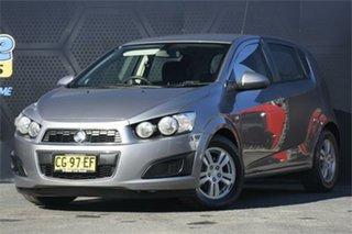 2011 Holden Barina TM Grey 5 Speed Manual Hatchback.