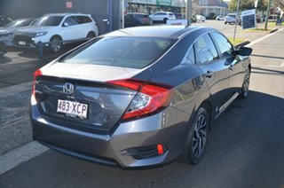 2017 Honda Civic MY17 VTi-S Grey Continuous Variable Sedan.