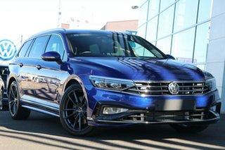2021 Volkswagen Passat 3C (B8) MY21 206TSI DSG 4MOTION R-Line Lapiz Blue 6 Speed.