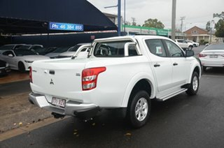2018 Mitsubishi Triton MQ MY17 GLX (4x4) White 5 Speed Automatic Dual Cab Utility.
