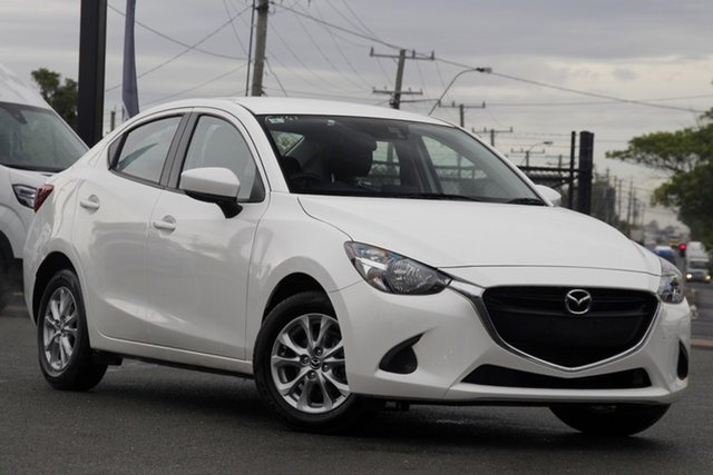 Used Mazda 2 DL2SAA Maxx SKYACTIV-Drive Rocklea, 2017 Mazda 2 DL2SAA Maxx SKYACTIV-Drive Snowflake White Pearl 6 Speed Sports Automatic Sedan
