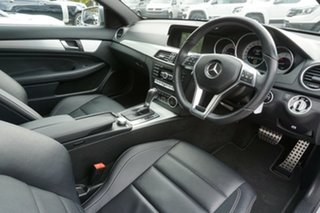 2013 Mercedes-Benz C-Class C204 MY13 C250 CDI 7G-Tronic Silver 7 Speed Sports Automatic Coupe