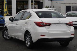 2017 Mazda 2 DL2SAA Maxx SKYACTIV-Drive Snowflake White Pearl 6 Speed Sports Automatic Sedan.