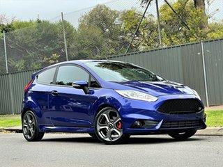2016 Ford Fiesta WZ ST Blue 6 Speed Manual Hatchback.