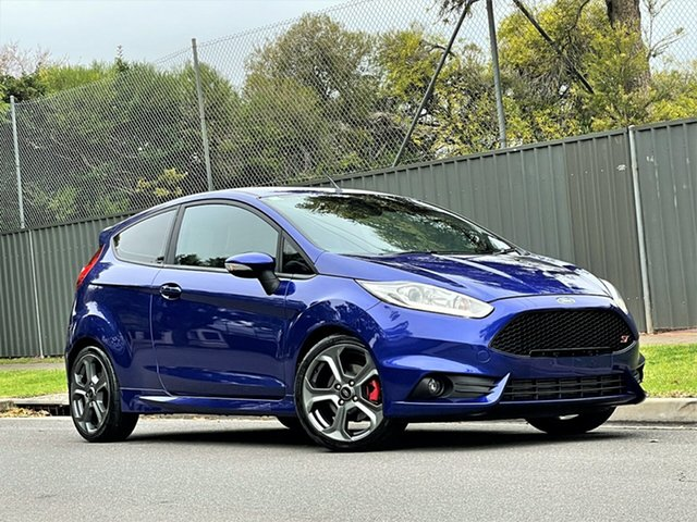 Used Ford Fiesta WZ ST Hyde Park, 2016 Ford Fiesta WZ ST Blue 6 Speed Manual Hatchback