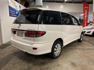 2005 Toyota Tarago ACR30R MY03 GLi White 4 Speed Automatic Wagon.