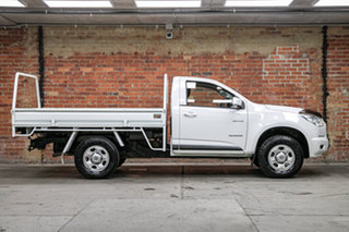2013 Holden Colorado RG MY14 LX 4x2 White 6 Speed Sports Automatic Cab Chassis