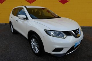 2016 Nissan X-Trail T32 ST  X-tronic Pearl White 6 Speed Constant Variable Wagon.