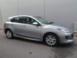 2013 Mazda 3 BL1072 MY13 SP20 SKYACTIV-Drive SKYACTIV Silver 6 Speed Sports Automatic Hatchback