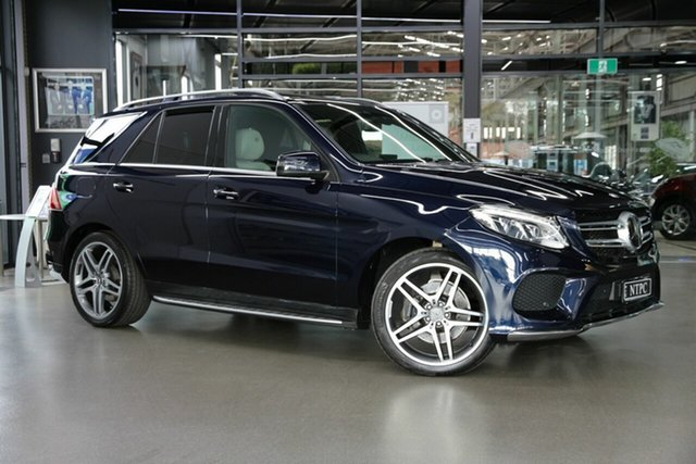 Used Mercedes-Benz GLE-Class W166 807MY GLE350 d 9G-Tronic 4MATIC North Melbourne, 2016 Mercedes-Benz GLE-Class W166 807MY GLE350 d 9G-Tronic 4MATIC Blue 9 Speed Sports Automatic