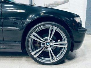 2003 BMW 3 Series E46 MY2003 318i Steptronic Black 5 Speed Sports Automatic Sedan.