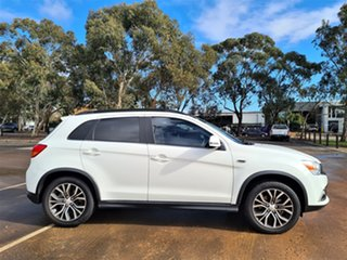 2017 Mitsubishi ASX XC MY17 XLS 2WD White 6 Speed Constant Variable Wagon.
