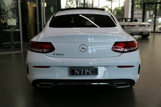 2019 Mercedes-Benz C-Class C205 800+050MY C200 9G-Tronic White 9 Speed Sports Automatic Coupe