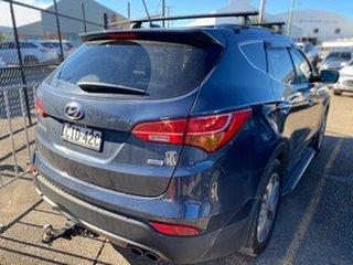 2012 Hyundai Santa Fe DM MY13 Highlander Blue 6 Speed Sports Automatic Wagon.