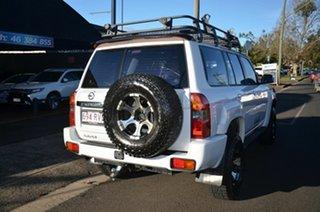 2008 Nissan Patrol GU VI ST (4x4) White 5 Speed Manual Wagon.