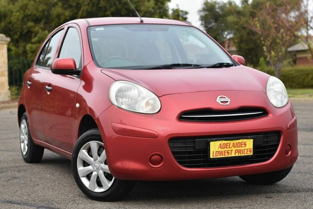 Used Nissan Micra K13 MY13 ST Enfield, 2014 Nissan Micra K13 MY13 ST Red 5 Speed Manual Hatchback
