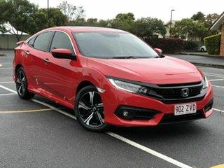 2017 Honda Civic 10th Gen MY17 RS Red 1 Speed Constant Variable Sedan.