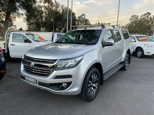 Used Holden Colorado RG MY17 LTZ Pickup Crew Cab Maitland, 2017 Holden Colorado RG MY17 LTZ Pickup Crew Cab Silver 6 Speed Sports Automatic Utility