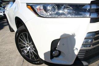 2019 Toyota Kluger GSU55R Grande AWD Crystal Pearl 8 Speed Automatic Wagon.