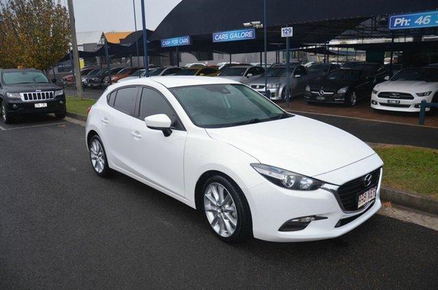 Used Mazda 3 BN MY17 Neo Toowoomba, 2016 Mazda 3 BN MY17 Neo White 6 Speed Manual Hatchback