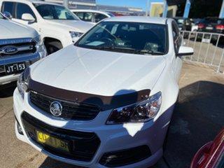 2015 Holden Commodore VF MY15 SV6 Sportwagon White 6 Speed Sports Automatic Wagon.