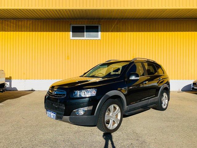 Used Holden Captiva CG MY13 7 AWD LX Canning Vale, 2013 Holden Captiva CG MY13 7 AWD LX Black 6 Speed Sports Automatic Wagon