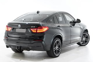 2017 BMW X4 F26 xDrive20d Coupe Steptronic Black 8 Speed Automatic Wagon.