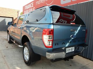 2014 Ford Ranger PX XLT Double Cab 4x2 Hi-Rider Blue 6 Speed Sports Automatic Utility