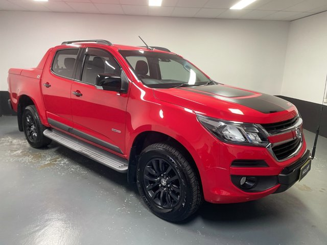 Used Holden Colorado RG MY18 Z71 Pickup Crew Cab Hamilton, 2018 Holden Colorado RG MY18 Z71 Pickup Crew Cab Red 6 Speed Sports Automatic Utility