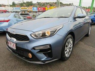 2019 Kia Cerato BD MY19 S Blue 6 Speed Sports Automatic Hatchback.