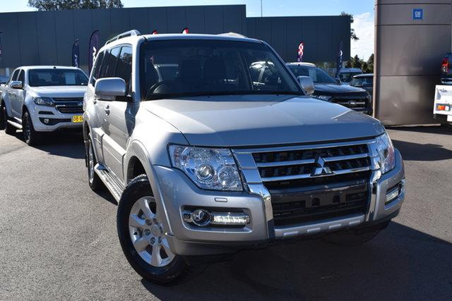 Used Mitsubishi Pajero NX MY19 GLX Tuggerah, 2019 Mitsubishi Pajero NX MY19 GLX Silver 5 Speed Sports Automatic Wagon