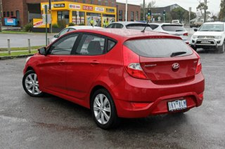 2017 Hyundai Accent RB6 MY18 Sport Red 6 Speed Sports Automatic Hatchback.