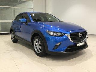 2015 Mazda CX-3 DK2W7A Neo SKYACTIV-Drive Dynamic Blue 6 Speed Sports Automatic Wagon.