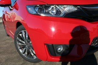 2014 Honda Jazz GF MY15 VTi-S Red 1 Speed Constant Variable Hatchback.
