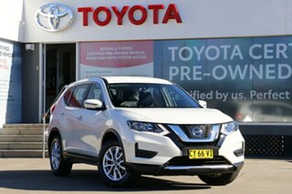 2020 Nissan X-Trail T32 MY20 ST (4x4) White Continuous Variable Wagon.